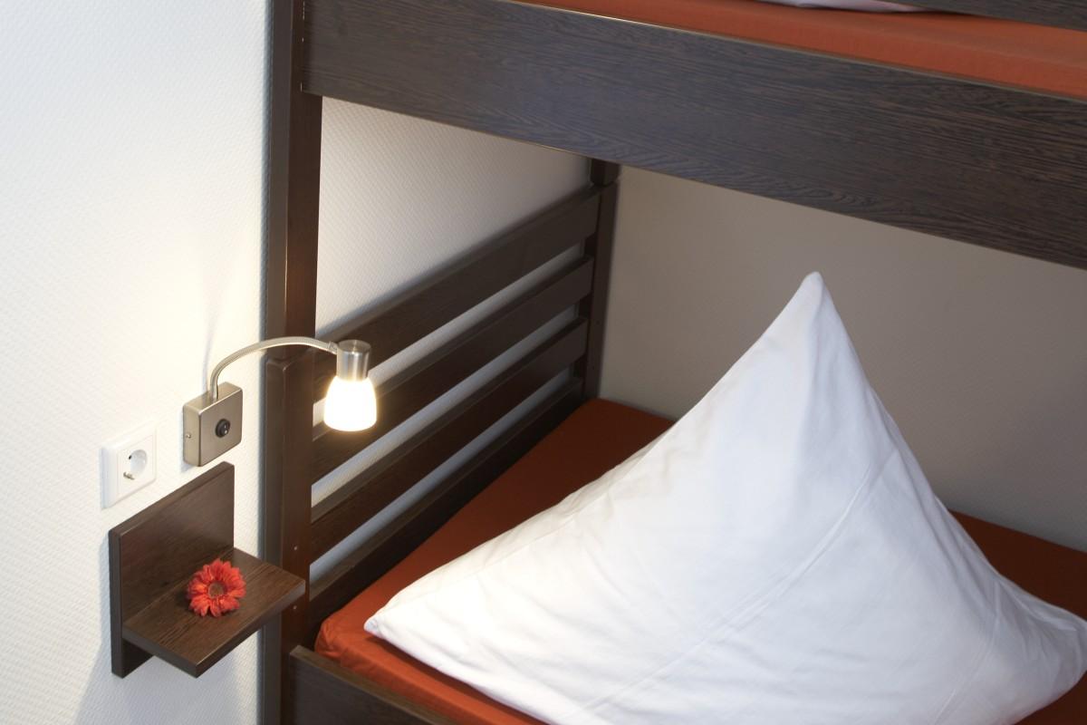 Hostel Köln 4-Bett-Zimmer Detail