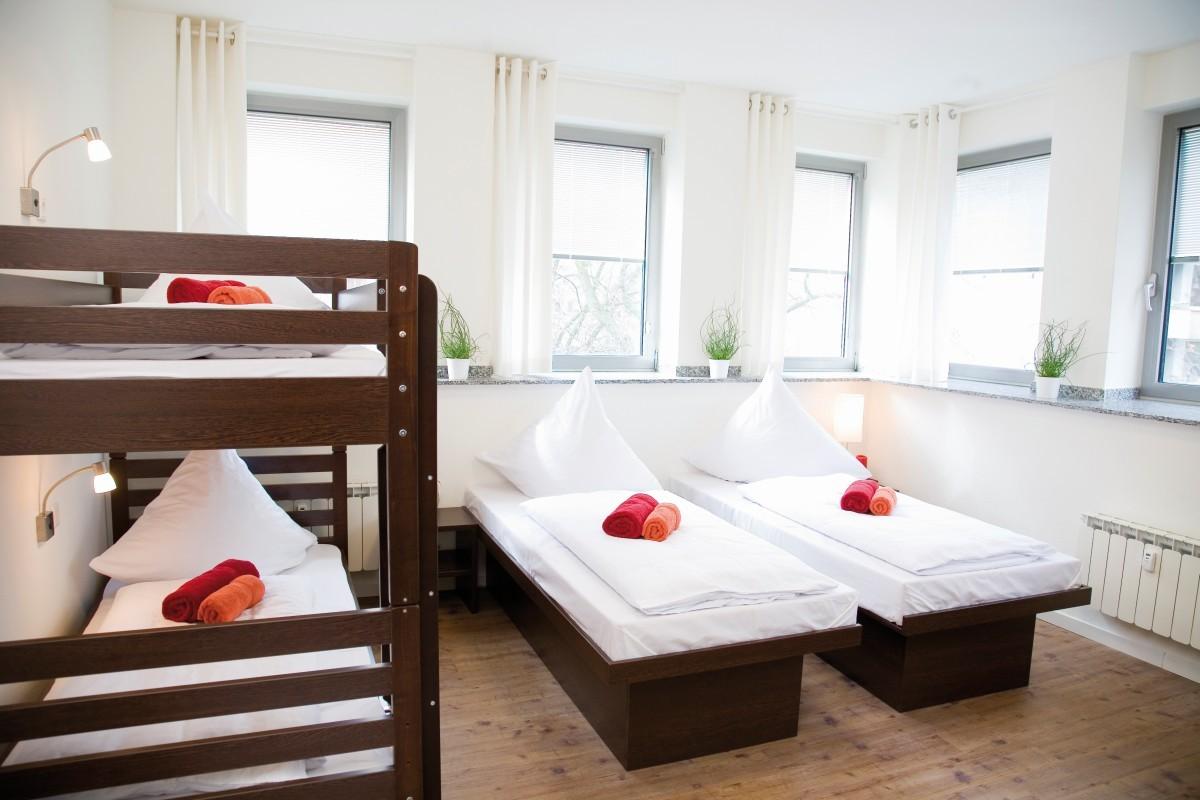 Hostel Köln 5 Bett Zimmer Beispiel