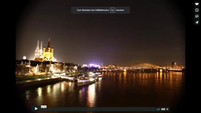 Köln im Zeitraffer