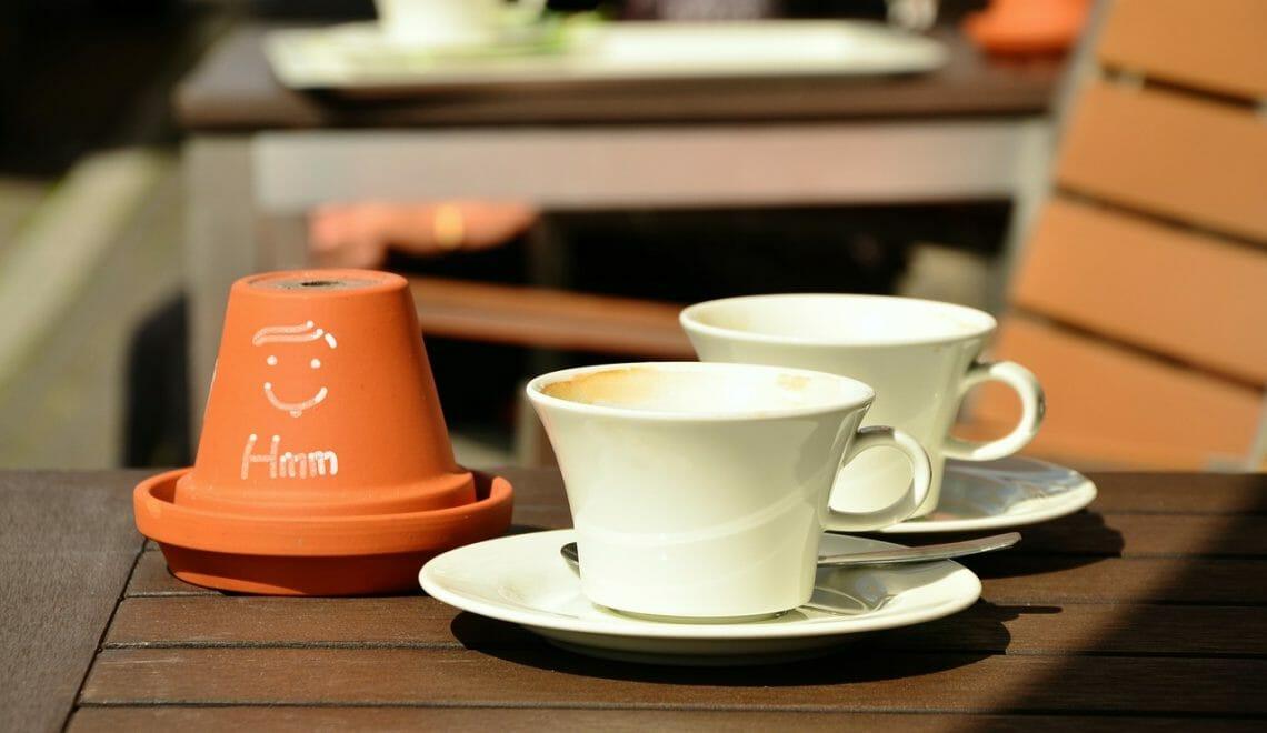 Straßencafe Köln